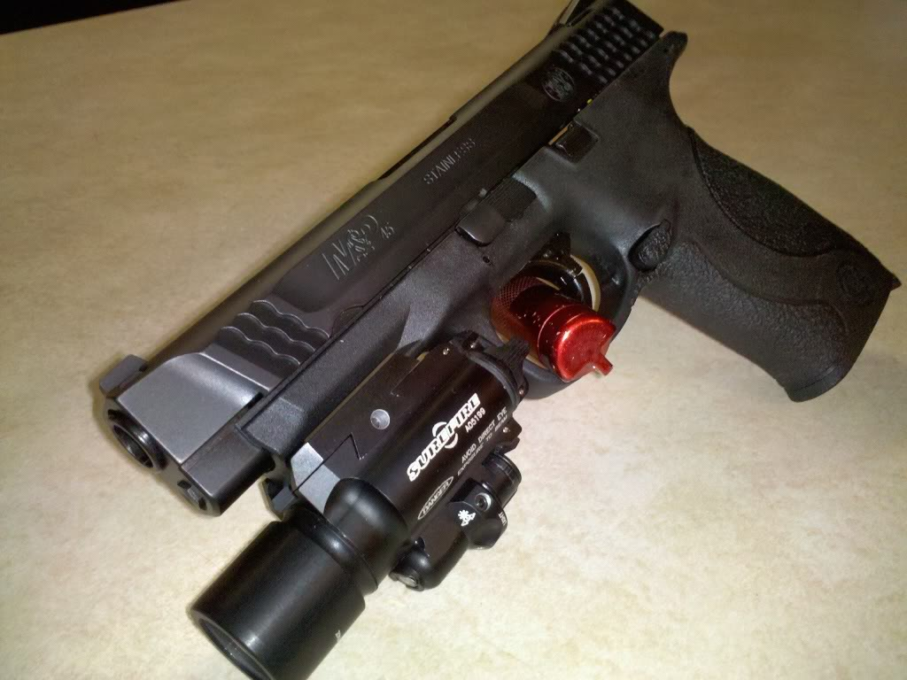 FOR SALE: Crimson Trace to fit M&P 9mm 357 sig & 40 cal s&w Compact